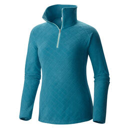 Columbia Women's Glacial Fleece Print 1/2 Zip Fleece Jacket