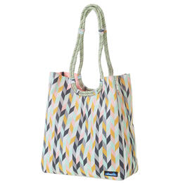 Kavu Women's Chevron Sketch Market Tote Bag