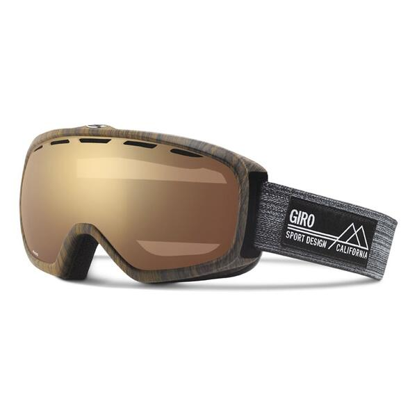 Giro Basis Snow Goggles With Amber Gold Lens