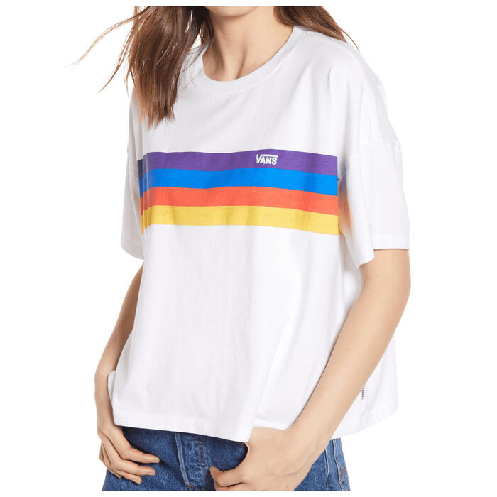Vans Women's Rainee Rainbow Screen Top