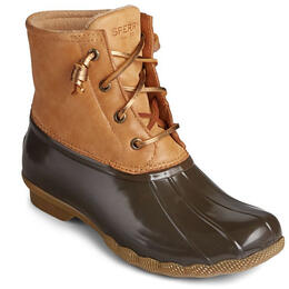 Sperry Women's Saltwater Starlight Leather Duck Boots