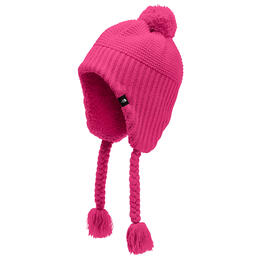 The North Face Girl's Purrl Stitch Earflap Beanie