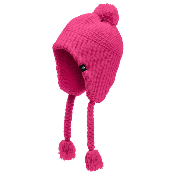The North Face Girl's Purrl Stitch Earflap
