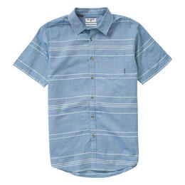 Billabong Men's Flat Lines Button Down Shirt