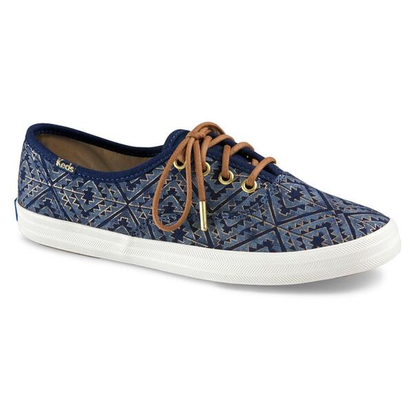 Keds Women's Champion Tribal Metallic Casual Shoes