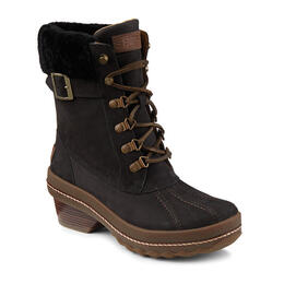 Sperry Women's Gold Cup Ava Boots Black