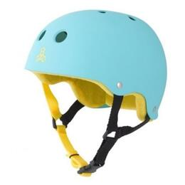 Triple Eight Brainsaver Rubber With Sweatsaver Liner Skate Helmet
