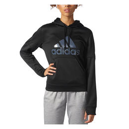 Adidas Women's Team Issue Fleece Logo Hoodie