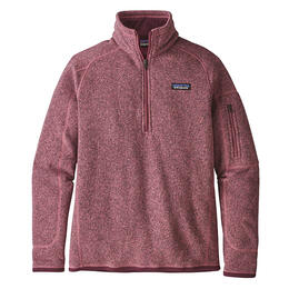 Patagonia Women's Better Sweater Quarter Zip Pullover