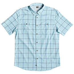 Quiksilver Men's Wake Plaid Short Sleeve Shirt