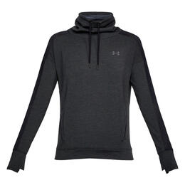 Under Armour Women's Featherweight Fleece Funnel Neck Long Sleeve Shirt