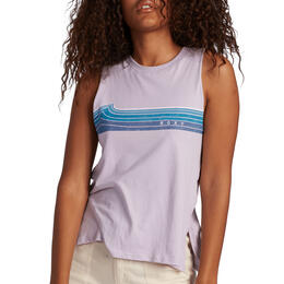 ROXY Women's Wavey Stripe Tank Top