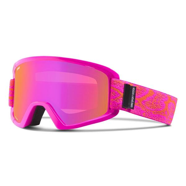 Giro Women's Dylan Snow Goggles With Amber Pink Lens