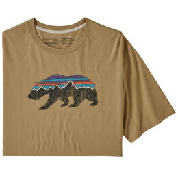 Patagonia Men's Fitz Roy Bear Organic Cotton T Shirt