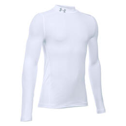 Under Armour Boy's Armour Mock Long Sleeve Shirt