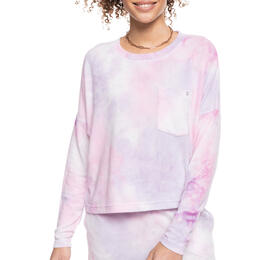 ROXY Women's Sunshine Spirit Cosy Long Sleeve Tie-Dye Top