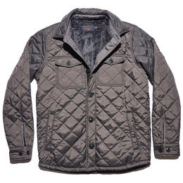 The Normal Brand Men's Quilted Sherpa Lined Shacket