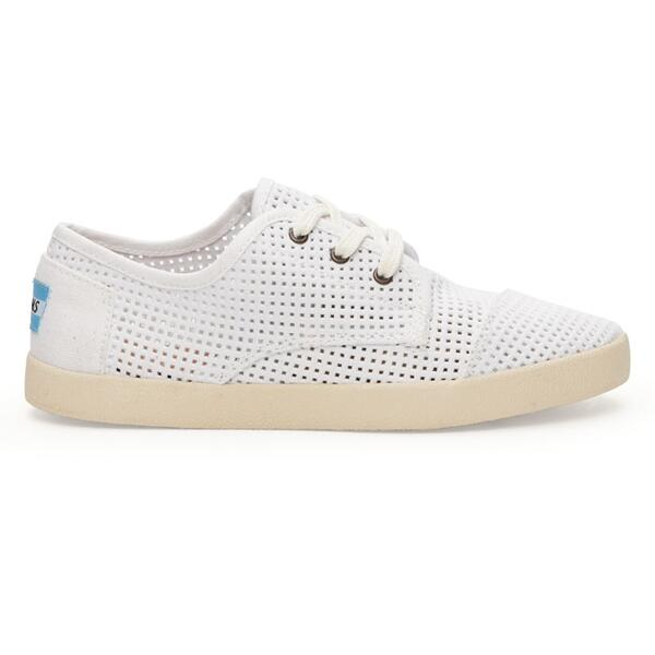 Toms Women's Paseo Canvas Perforated Casual Shoes