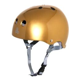 Triple Eight Brainsaver Glossy With Sweatsaver Liner Skate Helmet