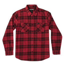 Rvca Men's Standoff Flannel Long Sleeve Shi