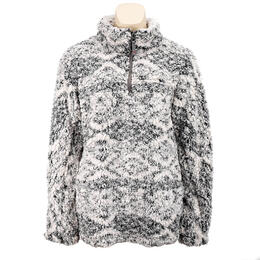 Dylan by True Grit Women's Tribal Pattern Frosty Tipp Sweater