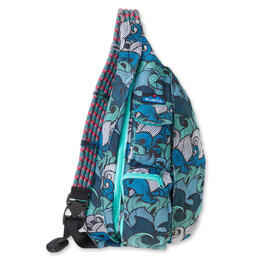 Kavu Rope Bag Backpack Ocean Waves
