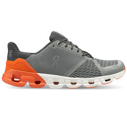 On Men's Cloudflyer Running Shoes Grey/Orange
