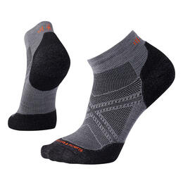 Smartwool Men's PhD Run Light Elite Low Cut Socks Graphite