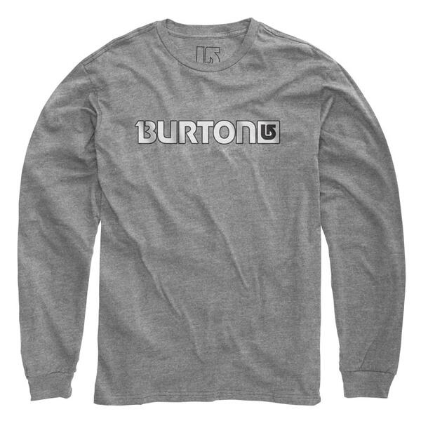 Burton Men's Logo Horizontal Long Sleeve T-shirt
