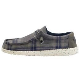 Hey Dude Men's Wally Funk Plaid Shoes
