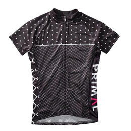 Primal Wear Women's Polkaline Cycling Jersey