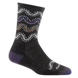 Darn Tough Vermont Women's Wandering Stripe Micro Crew Socks