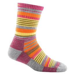 Darn Tough Vermont Junior Girl's Light Sierra Stripe Jr. Socks