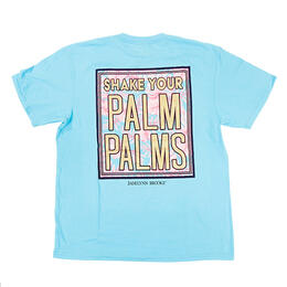Jadelynn Brooke Women's Shake Your Palm Palms Short Sleeve Tee Shirt