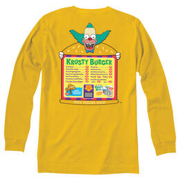 Simpsons x Vans Men's Krusty Long Sleeve T Shirt