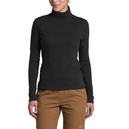 The North Face Women's Woodside Hemp Long Sleeve Turtleneck