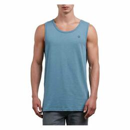 Volcom Men's Solid Indigo Heather Tank