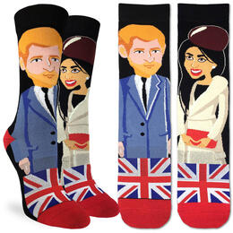 Good Luck Socks Women's Prince Harry & Meghan Socks