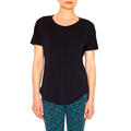 Lucy Women's Final Rep Short Sleeve Top Black Front
