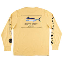 Salty Crew Men's Marlin Mount Long Sleeve Tech Tee Shirt