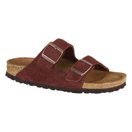 Birkenstock Women's Arizona Soft Footbed Suede Sandals