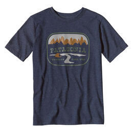 Patagonia Boys' Pointed West Short Sleeve T Shirt