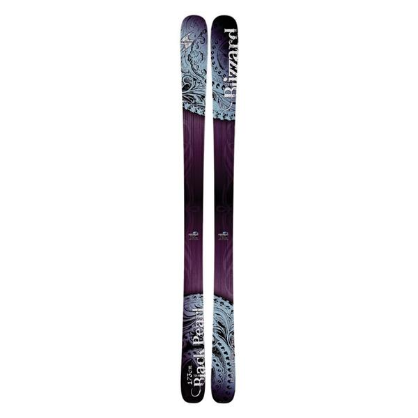 Blizzard Women's Black Pearl Free Mountain Skis '14 - Flat