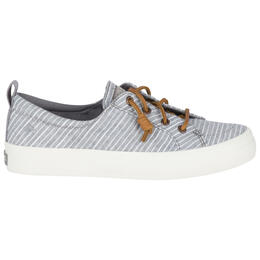 Sperry Women's Crest Vibe Chambray Stripe Casual Shoes