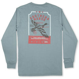 Southern Marsh Men's Vintage Tag Long Sleeve Tee Shirt