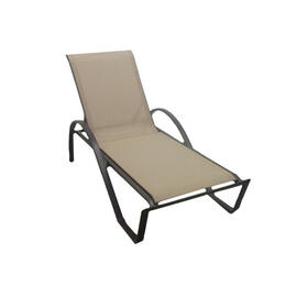 Casual Classics Brown Spice Sling Chaise Lounge Chair
