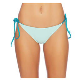 Splendid Women's Color Blocked Reversible Tie Swim Bottoms