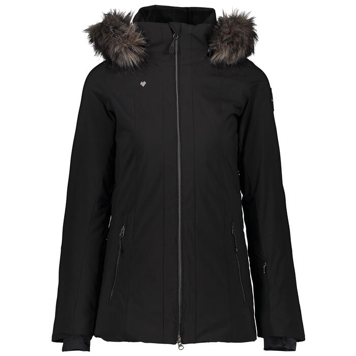Obermeyer Women's Siren Jacket with Faux Fur