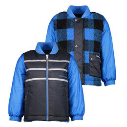 Obermeyer Toddler Boy's Voyager Reversible Jacket