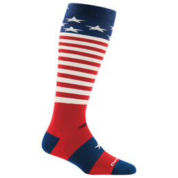 Darn Tough Vermont Captain Stripe Over-The-Calf Light Cushion Socks